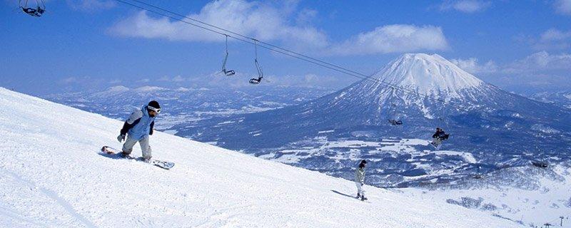 Japan-Skiing